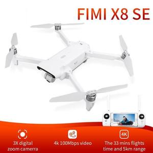 RTROWN FIMI X8SE 2020 Versión Cámara Drone RC Quadcopter 8km FPV 3-Axis Gimbal 4K Cámara HDR Video GPS con una batería RTF1