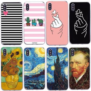 Fashion lovely Couples Phone XS Max XR Soft TPU Back Cover For iphone 6 6s 7 8 Plus X Protective Case Capa