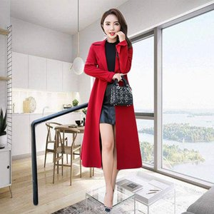 Hangzhou, China Long Windbreaker Women's Over the Knee Fall 2020 New Style Slim Fit British Waistband Spring and Autumn Thi