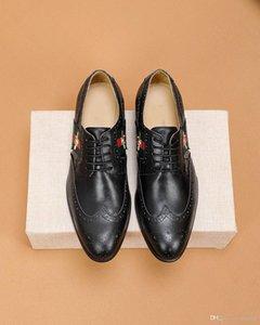 Los hombres de cuero zapatos formales atan para arriba los zapatos de vestir de lujo de diseño de moda retro Oxford trabajo elegante Tamaño Calzado Business Plus 45