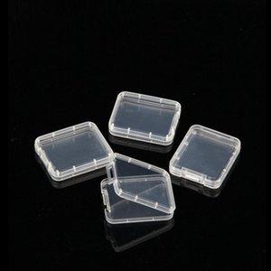 cartão de Shatter Container Box Proteção Card Case Container Memory Card boxs CF ferramenta de plástico transparente de armazenamento fácil de transportar DHD2809