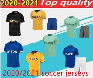 2020 James Soccer Jersey Keane Richarlison Sigurdsson Football Shirts 20 21 Hommes Football Jersey Kits Digne Calvert Lewin Camesita