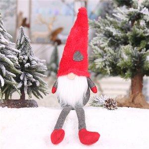 Natale nuove decorazioni bambole della peluche con i piedi senza volto bambola ornamenti foresta creativo commercio estero anziani caldo sale07
