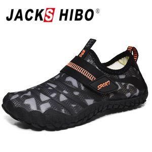 JACKSHIBO Мальчики Вода обувь аква носки для детей Quick-Dry Swim Surf дайвинга Barefoot Beach Pool сандалии Штекер размер # 29- # 38