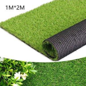 1M * 2 M Outdoor-Decke Artificail Gras für Patios, Innen Landschaft Dekoration, Rasen Rasen Kunst Matte für Haustier Hund Fläche 1029