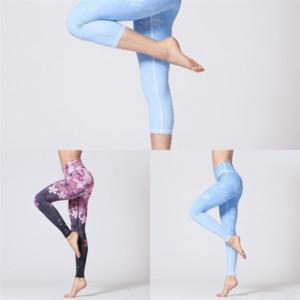 Pantalon de Yoga Zib Jambières Leggings Fitness Sport Pantalon Sports Sports Femmes Lady Strethcy Shiny Capri Yoga Pantalon Leggings