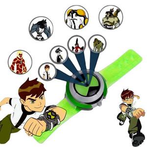 1 Pcs Boy 10 Alien Force Montres Omnitrix Green Power quatre bras Heatblast Action Figures de style projecteur Kid images cadeau jouets