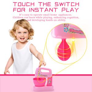 Niño mini sistema de simulación aparato batidor de huevos juguete pequeño juguete jugar a las casitas de juguete chica utensilios de cocina