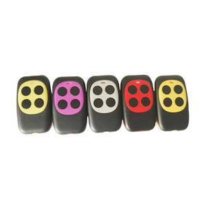 Fashion 433mhz Controller Colorful Electric Garage Door Remote Control Key FOB Cloning Cloner 4 Keys Gate Controller