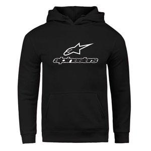 Herbst / Winter 2020 Alpine Stern Pullover Herren Fleece Jacke Alpine Stern Biker Sweatshirt Männer Pullover Hip Hop Lässige HoodieX1014