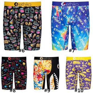 Mens Underwears Men Brand Swimwear Summer Beach quick dry Shark printing sand sports Shorts boxers Fashion underwear beachwear D72707