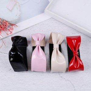 Velishy Nouveau Bandes de chaussures de l'arc détachables Détachables Shoelaces Bandes-courtures pour tenant des chaussures à talons hauts en vrac Décoration No Cravate Shaoelace1