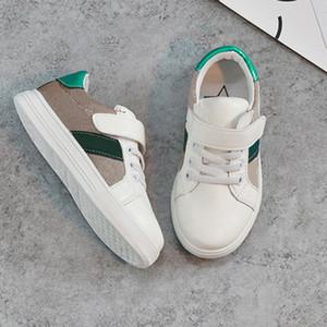 Çocuklar Ayakkabı Sneakers İlkbahar Yaz Eğilim Moda Çocuk Ayakkabı Casual Tarzı Kore Dikiş Desen Ayakkabı Bebek Erkek Kız Için