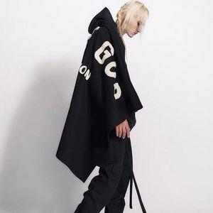 VENDA QUENTE 20SS FG Moda Manto Jacket Toalha Blanket bordado High Street clássico Mulheres Homens Quente Outwear Casual Jackets Blanket