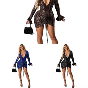 KRT prom sexy Sets Women Summer Piese dress mermaid two pie Suits Stacked Dyed TwoDress for Women Sexy Sleeveless Zipper Stand Collar