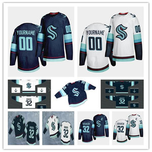 NWT 2020 Seattle Kraken Ice Hockey Jersey Custom Any Name Any Number Stitched Uniforms Men Women Youth Size S-3XL Cheap