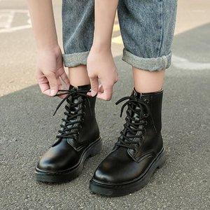 Yuxiang Shoes para mujer para botas Botas de piel de invierno Plataforma femenina Barcos de motocicleta Botines de tacón bajo para deportes casual1