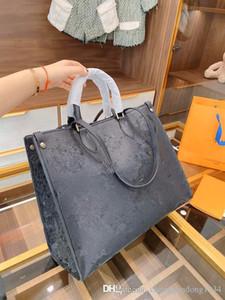 Borsoni Borse Soft Original Leather nave libera della pelle bovina della cinghia di spalla Shopping Bag singolo Bag goffratura di qualità