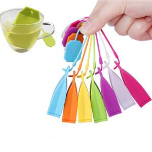 Grade Silicone Hangbag Tea Infuser Handbag Food Shape Loose Leaf Tea Strainer Herbal Filter Creative Tea Bag MXOZ