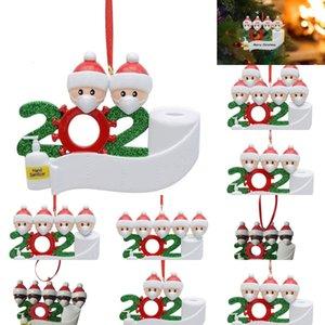 Маска Merry Подвеска Рождество 2020 Новый Face Рождество Снеговик носить маски семьи рождественские украшения Survivor подарков outletVY03