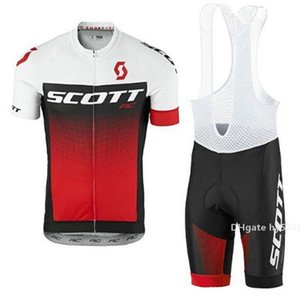 2020 Newest Crossrider Summer Newest Scott Cycling Jersey Red White Team Bike Wear Clothes Mtb Ropa Ciclismo Pro Cycling Clothing Mens S