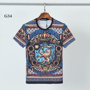 DSQ PHANTOM TURTLE 2021SS New Mens Designer T shirt Paris fashion Tshirts Summer Pattern T-shirt Male Top Quality 100% Cotton Top 1220