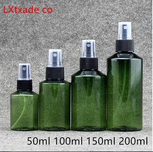 50-100ml Green plastic Perfume Spray empty bottle Wholesale retail Originales Cosmetic Water Setting spray Packaging