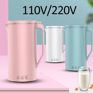 110V / 220V Sojamilch Machine Mini Soja Milk Maker Sojabohnenmilch Elektrische Entsafter Mixer Reis Paste Macher 350ml Filter-Free1