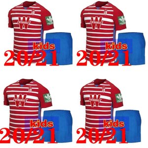 2020 2021 kids kit Granada soccer jerseys 20 21 Granada CF home SOLDADO MACHIS Herrera Antonio Puertas football shirts