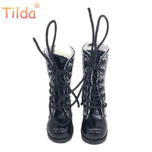 Tilda 3.2cm Doll Boots for Blythe Doll Toy,1 8 Mini Leather Dolls Shoes for Blyth Azone BJD,Casual Puppet Shoes Accessories 201013