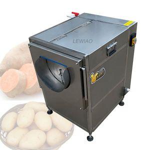 2021 Fabrikpreis Hochleistungs-Frisch-Ingwer-Waschmaschine Gemüse- und Früchtewasch- und Peeling-Maschine