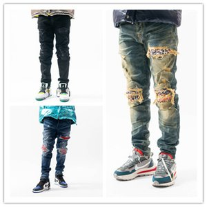 Nouveau design Hommes Designer Crayon Jeans imprimés Slim-jambe Jeans Pantalons Mode Club Vêtements pour hommes Livraison Gratuite Hip Hop Skinny Jeans