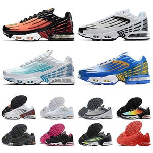 new tn plus 3 III turned stock sports sneakers se laser blue mens womens running shoes all blacks rugby white trainers