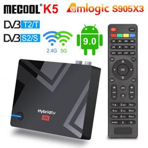 Mecool K5 Smart TV Box Android 9.0 Amlogic S905x3 2.4G 5G WiFi LAN 10 / 100m Bluetooth 4.1 2 GB 16 GB DVB S2 / T2 / Set Top Box