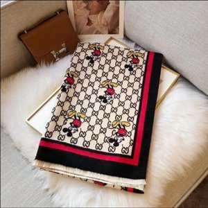 Wholesale latest luxury scarf silk square scarves brand famous designer letter pattern lady gift scarf high quality 100% silk long scarf
