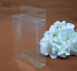 34 tailles Effacer la boîte en plastique transparent petite boîte cadeau PVC d'emballage d'affichage étanche pour bijoux / bonbons / cadeaux / 10pcs cosmétiques