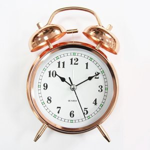New Creative Fashion Lighting Student Home Bedside Wall Mute Scanning Alarm Clock Loudly
