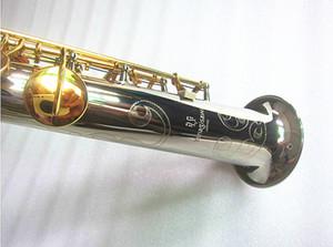 New Japan saxofón soprano Yanagisawa S-9030 alpaca de alta calidad derecho bemol Sax envío musical con el Grupo Cajas duros