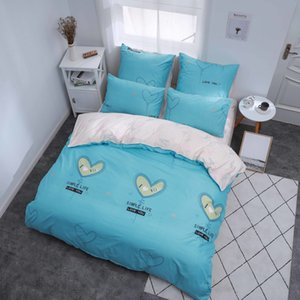 Alanna X series 2-3 Printed Solid bedding sets Home Bedding Set 4-7pcs High Quality Lovely Pattern with Star tree flower 1012
