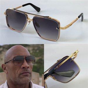 Novos óculos de sol homens design metal vintage óculos de sol estilo quadrado sem moldura UV 400 lente com caso original