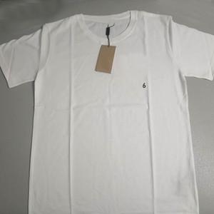 S-4XL MENS T SHIRTS Venta caliente Camiseta de algodón de las mujeres para el hombre O cuello Hombre de alta calidad Camiseta para hombre y mujer Tshirts Top Ropa de los hombres