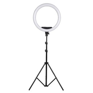 FreeShipping 18Inch Photo Studio lighting LED Ring Light Touch Control Photography Large Ring Lamp With 2M Stand for Portrait Makeup Video