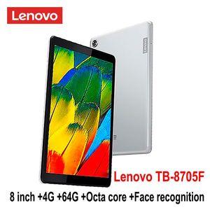 Lenovo M8 смарта планшетного ТБА 8705F / N 8Inch 3G / 4G RAM 32G / 64G диск окт Ядро Wi-Fi / LTE версия 5100mAh распознавания лица FHD IPS Долби