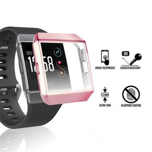 Ультратонкое мягкое покрытие TPU Cover Cover для Fitbit Ionic Полная защита Чехлы для носимых устройств Устройства SmartWatch Аксессуары Протектор