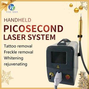Tattoo Rimozione Laser Machine Q Switch Picosecond LASER Dispositivo per Pigment Pigment TRATTAMENTO BAMBINA BAMBINA BLACK BAMBINA DI CARBONIO BEST QUALITÀ