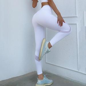 BINAND MESH Gym Leggings Femmes Pantalons Yoga Femmes Push Up Fitness Collant Sport High Sport Leggings Running Pants Sports