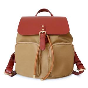 Новый рюкзак Drawstring рюкзак женская корейская мода Trend Mmy Mommy Oxford Howhide рюкзаки светлая сумка для путешествий