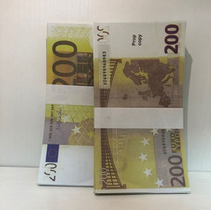 Money Billet Umuiq Stage Euro Faux Counterfeit New Party Prop LE200-36 Atmosphere Bar 200 Iuwpo