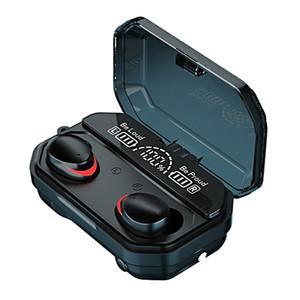 A16 A17 TWS Wireless Bluetooth Headphones LED Display Waterproof IPX7 Music Earphone For Iphone Huawei Oppo Xiaomi Sport Headset