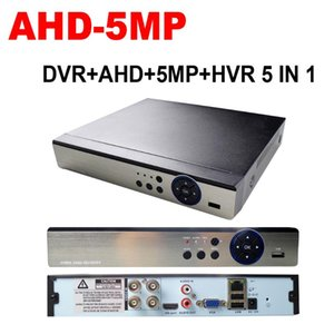 4CH HVR 5in1 ibrida AHD DVR NVR SVI TVI CVI Digital Video Recorder 5MP HD supporto Onvif Security Camera System Video Recorder
